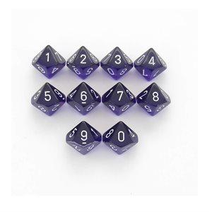 Translucent: 10D10 Purple / White
