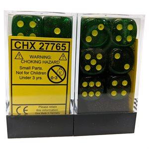 Borealis™: Maple Green / Yellow Dice Block™ 12D6