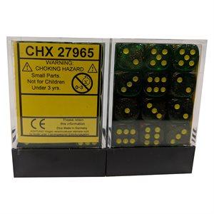 Borealis™: Maple Green / Yellow Dice Block™ 36D6
