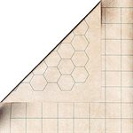 "Mat: 1"" Hex / Sq 2 Sided Battlemat"