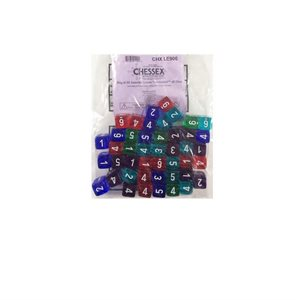 Translucent: Limited Edition Bag of 50 Assorted D6