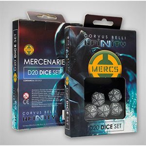 Infinity: Non-Aligned Armies D20 Dice Set