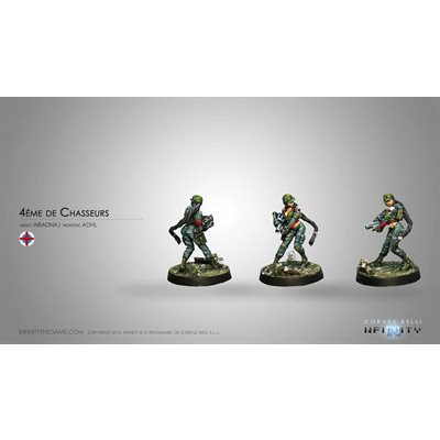 Infinity: Ariadna Chasseurs