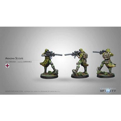 Infinity: Ariadna Scouts Ap Sniper