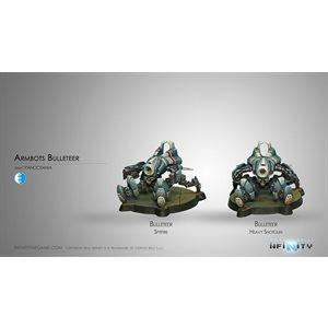 Infinity: PanOceania Armbots Bulleteer
