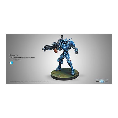 Infinity: PanOceania Squalo Armored Heavy Lancers