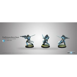 Infinity: PanOceania - Blister Pack - Black Friars - Multi Rifle (1)