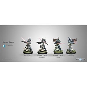 Infinity: PanOceania - Teutonic Knights - Spitfire / Combi Rifle (2) - RP / RS / AF