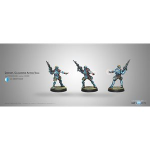 Infinity: PanOceania Locust, Clandestine Action Team (Hacker)