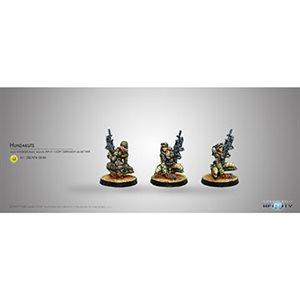 Infinity: Haqqislam Hunzakuts Rifle & Grenade Launc