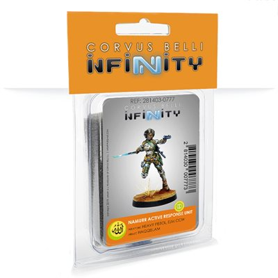 Infinity: Haqqislam Namurr Active Response Unit (Heavy Pistol, E / M CCW)