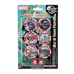 Marvel HeroClix: Captain America and the Avengers Dice and Token Pack ^ FEB 5 2020