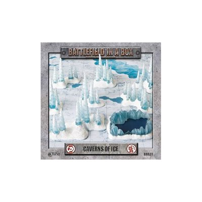 Battlefield in a Box: Caverns of Ice Encounter Pre-painted 30mm Terrain