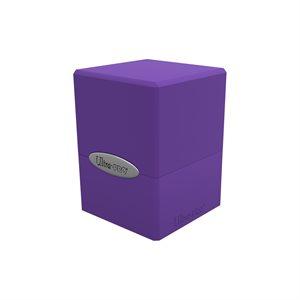 Deck Box: Royal Purple Satin Cube (100ct)