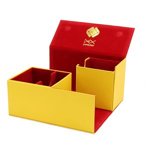 Deck Box: Creation Line Large 200Ct Yellow