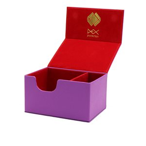 Deck Box: Creation Line Medium 100Ct Purple