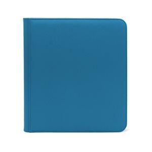 Binder: Dex Zipper 12-Pocket Blue