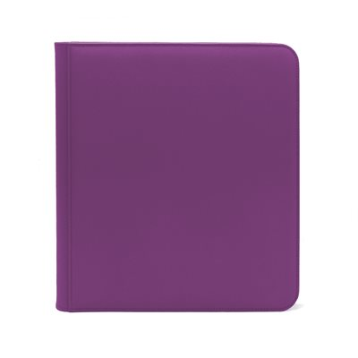 Binder: Dex Zipper 12-Pocket Purple