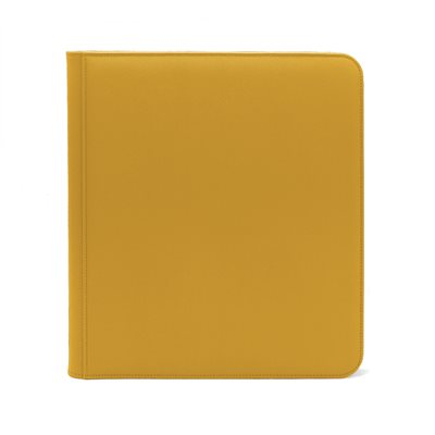 Binder: Dex Zipper 12-Pocket Yellow