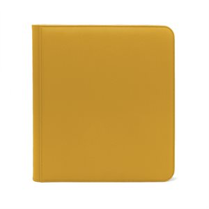 Binder: Dex Zipper 12-Pocket Yellow