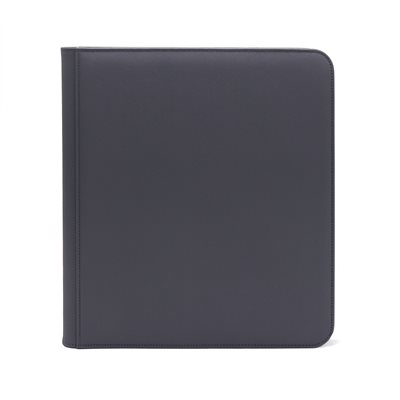 Binder: Dex Zipper 12-Pocket Grey