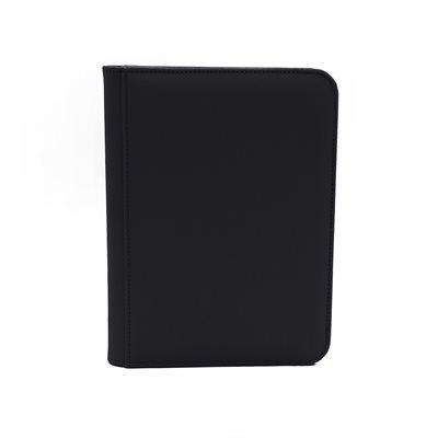 Binder: Dex Zipper 4-Pocket Black