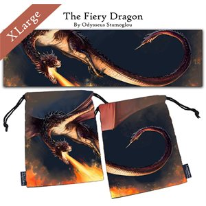 Legendary Dice Bags: The Fiery Dragon XL