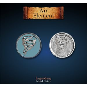Legendary Metal Coins: Season 5: Air Element Set (12pc)