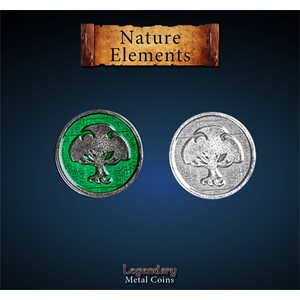 Legendary Metal Coins: Season 5: Nature Element Set (12pc)