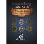 Legendary Metal Coins: Season 5: Amerindian Coin Set (27pc)