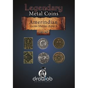 Legendary Metal Coins: Season 5: Amerindian Coin Set (27pc)