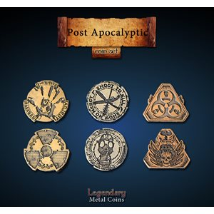 Post Apocalyptic Coin Set (24pc) ^ Q4 2019