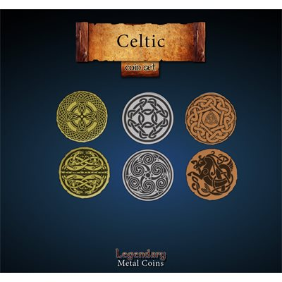 Legendary Metal Coins: Season 5: Celtic Coin Set (27pc)