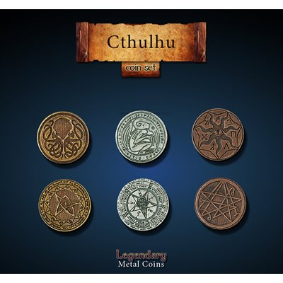 Cthulhu Coin Set (24pc)