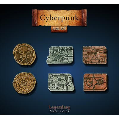Cyberpunk Coin Set (24pc)