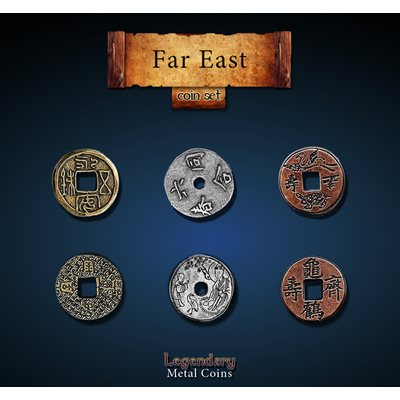 Far East Coin Set (24pc)