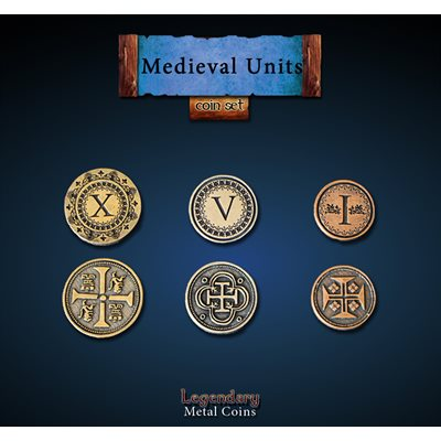Medieval Units Coin Set (30pc) ^ Q4 2019