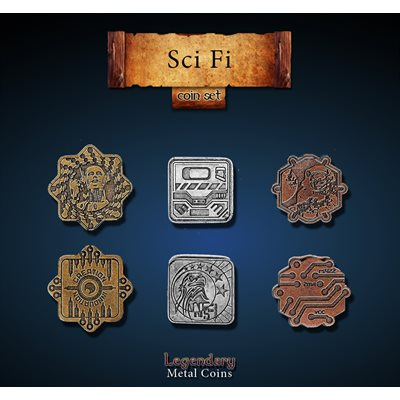 Sci-Fi Coin Set(24pc) ^ Q4 2019