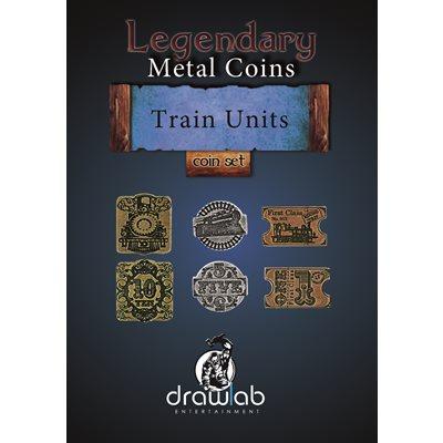 Legendary Metal Coins: Season 5: Train Units Set