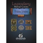 Legendary Metal Coins: Season 5: Train Units Set