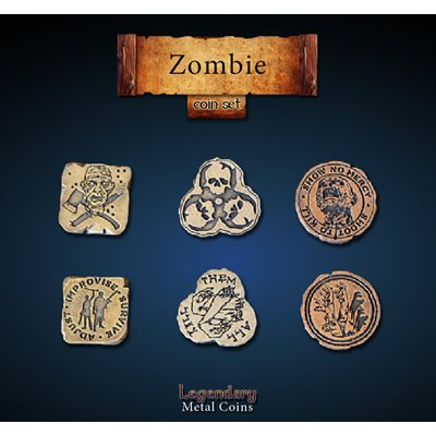 Zombie Coin Set (24pc) ^ Q4 2019
