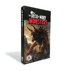 The Deck Of Many: Monsters 1 (No Amazon Sales)