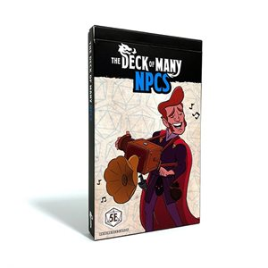 The Deck Of Many: NPCs (No Amazon Sales)