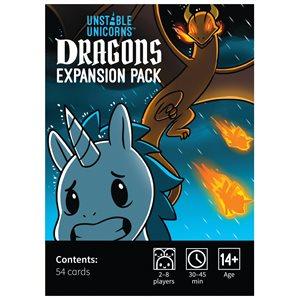 Unstable Unicorns - Expansion - Dragons (No Amazon Sales)