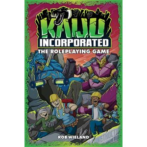 Fate Core: Kaiju Incorporated: the Roleplaying Game (BOOK)