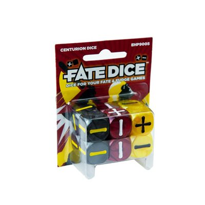 Fate Core Dice: Centurion