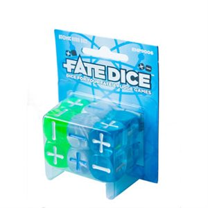 Fate Core Dice: Atomic Robo