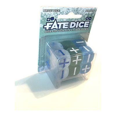 Fate Core Dice: Frost