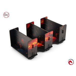 E-Raptor Card Holder 2L Fullprint HDF Lava