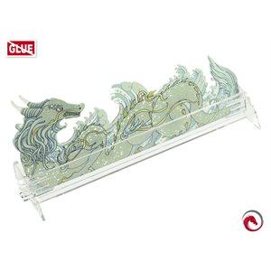 E-Raptor Card Holder S Dragon Transparent